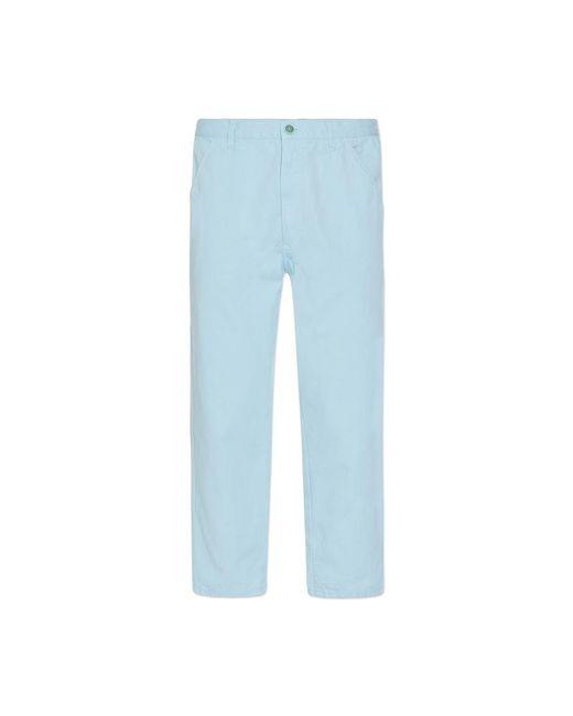 Comme des Garçons - Blue Cotton Drill Pants for Men - Lyst