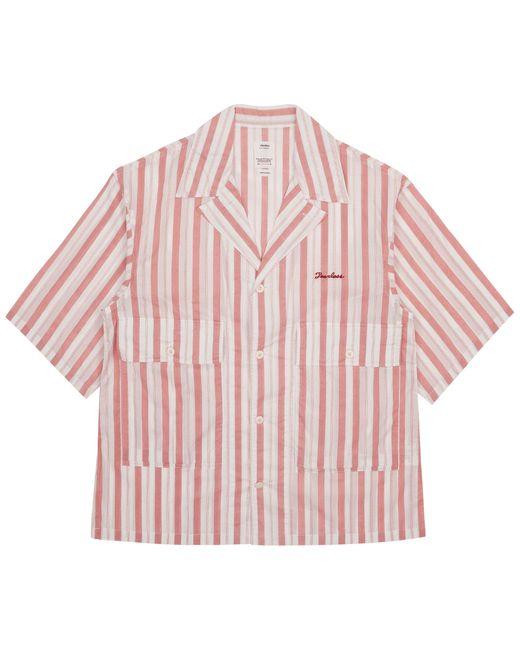 Visvim Red Cornet Shortsleeve Shirt for men