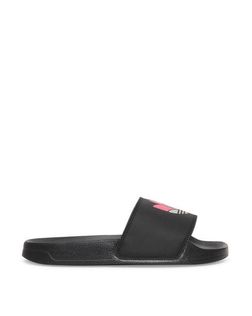 Adidas Originals Black Adilette Lite Slides