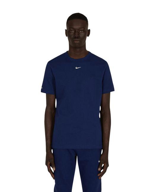 Nike Nocta Essential T-shirt Blue Void/white Xs for men