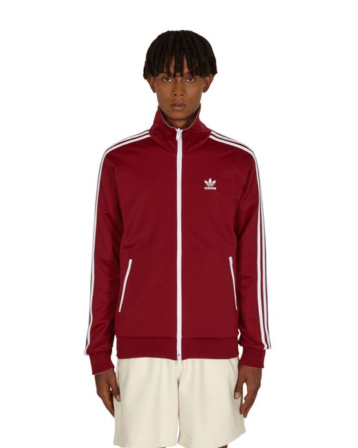 Adidas Originals Red Human Made Firebird Track Jacket for men