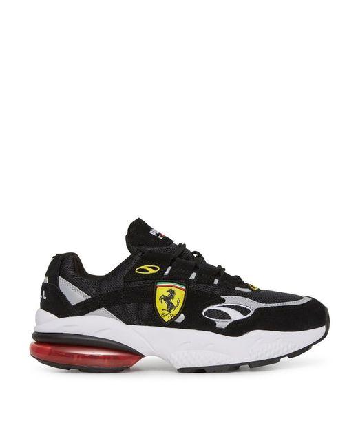 84b87107e37f65 PUMA - Black Scuderia Ferrari Cell Venom Sneakers for Men - Lyst ...
