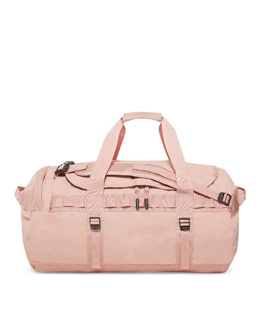 The North Face - Pink Base Camp Duffle M Bag Misty Rose/misty Rose - Lyst