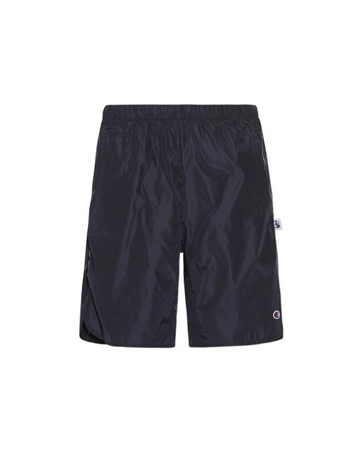 Champion - Blue Beams Shorts for Men - Lyst