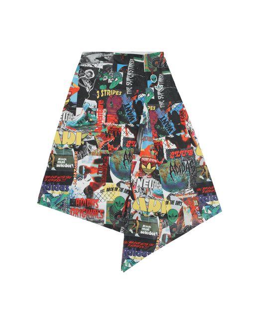 Adidas Originals Multicolor Allover Print Skirt