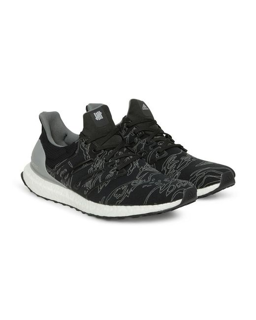 innovative design b8173 97526 Men's Black Adidas X Undefeated Ultraboost Sneakers Shift Grey/cinder Gray