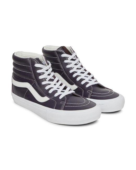 c2431da6f8 ... Vans - Blue Sk8-hi Reissue Vlt Lx Sneakers for Men - Lyst ...