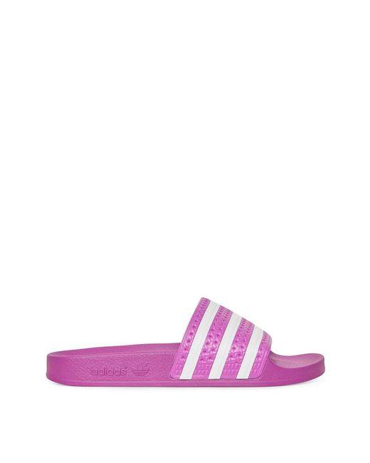 92084a166cd6a Adidas Originals - Purple Wmns Adilette Slides - Lyst ...