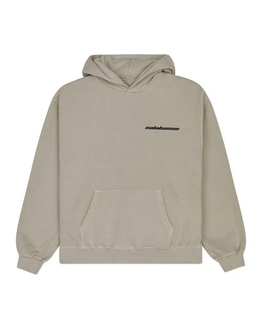 Yeezy - Gray Yeezy Calabasas French Terry Hoodie Mist for Men - Lyst