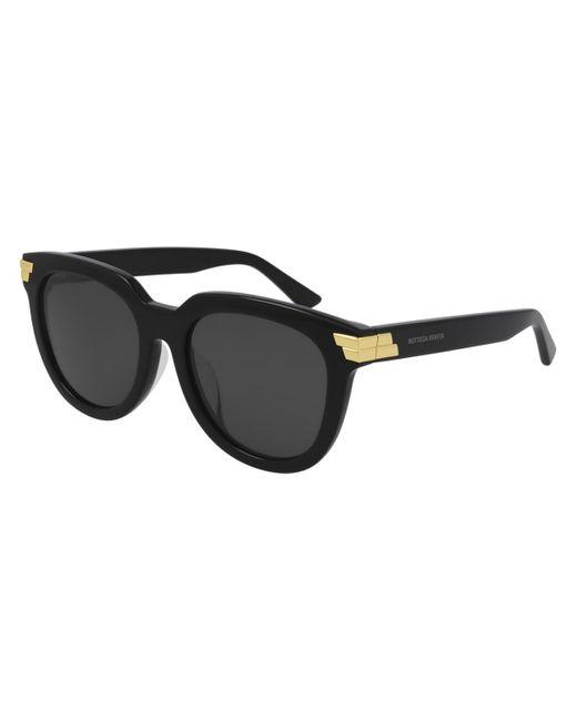 Bottega Veneta Black Bv1104sa Asian Fit 001 Women's Sunglasses