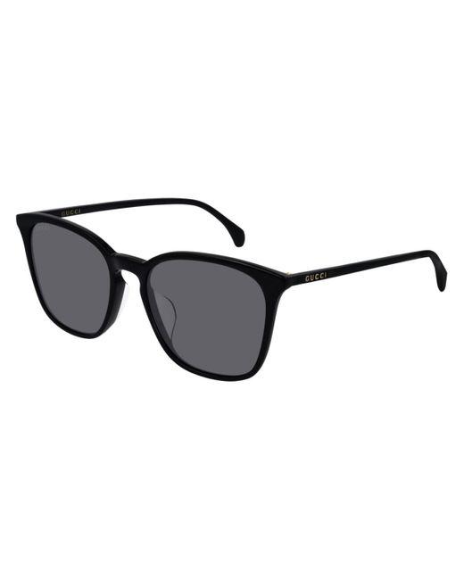 Gucci Black Square Ultralight Sunglasses for men