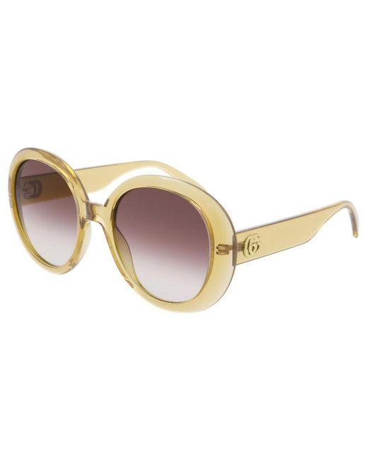 Gucci Multicolor GG0712S 003 Women's Sunglasses Yellow