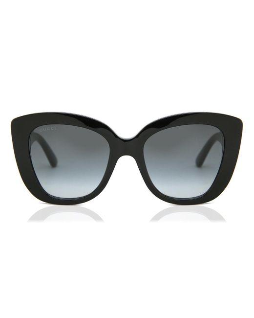 Gucci Gray GG0327S 001 Women's Sunglasses
