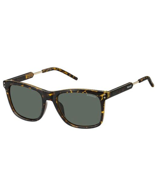Polaroid Sunglasses Mens Pld2034s PLD2034S Polarized Rectangular Sunglasses