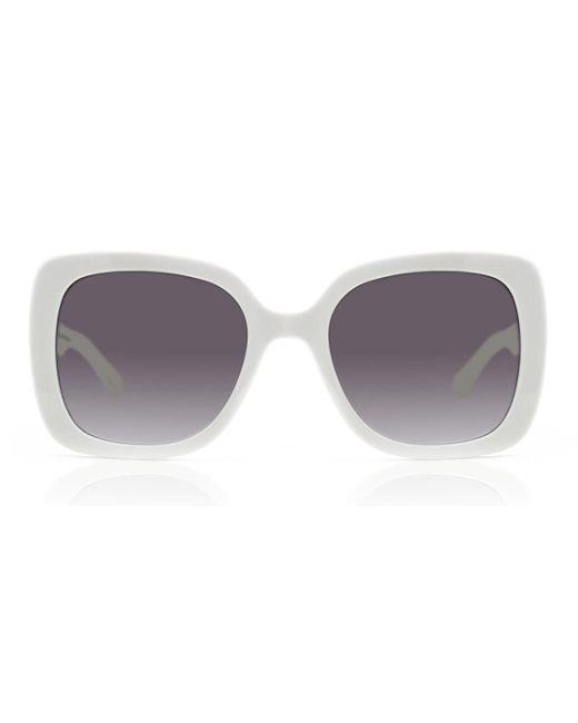 Kate Spade Krystalyn/s Szj/9o Women's Sunglasses White