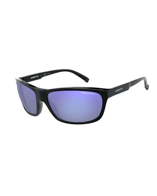 Arnette Mens 50-50 Grand Square Sunglasses Matte Black 61 mm