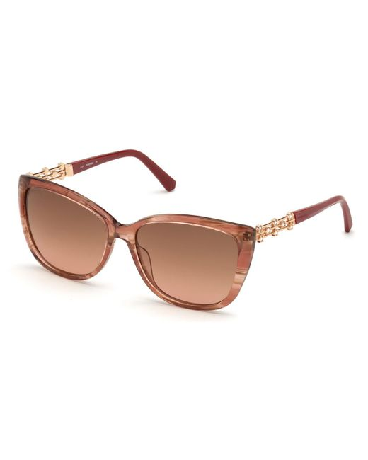 Swarovski Sk0291 72g Women's Sunglasses Pink
