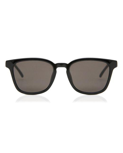 Saint Laurent Sl 327/k Asian Fit 001 Sunglasses Black for men