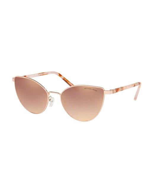 Michael Kors Metallic Mk1052 Arrowhead 11086f Women's Sunglasses Gold