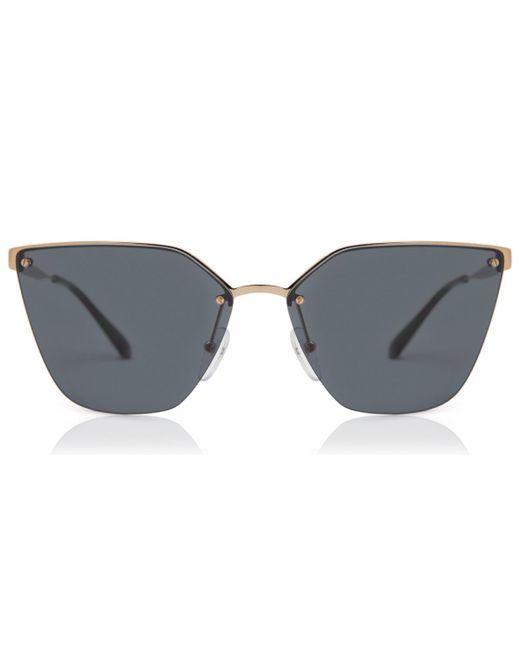 Prada Metallic Pr 68ts Polarized 7oe5z1 Women's Sunglasses Gold
