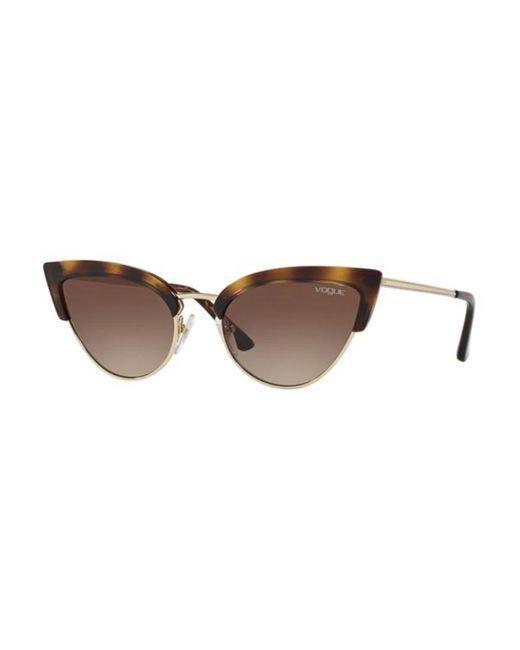 Vogue Eyewear Brown Vo5212s W65613 Women's Sunglasses Tortoiseshell