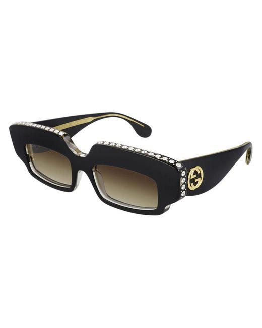 Gucci Black GG0782S 001 Women's Sunglasses