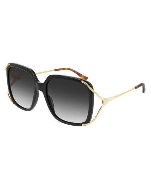 Gucci Black GG0647S 001 Women's Sunglasses