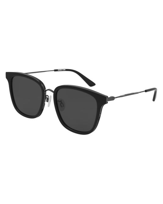 McQ Alexander McQueen Black Mq0279sa Asian Fit 001 Women's Sunglasses