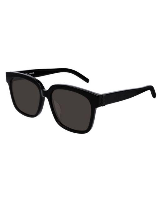 Saint Laurent Black Sl M40/f Asian Fit 001 Women's Sunglasses