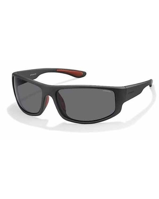 Polaroid Sunglasses 1004//S 003 C3 Matte Black Grey Polarized