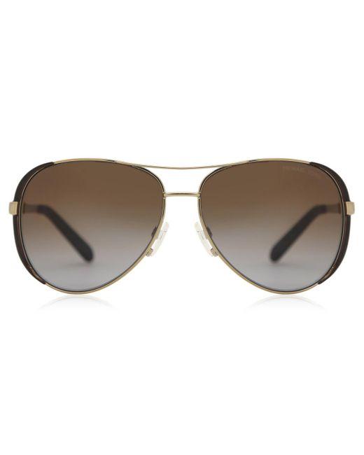 Michael Kors Mk5004 Chelsea Polarized 1014t5 Women's Sunglasses Brown