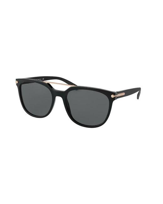 BVLGARI Black Bv7035f Asian Fit Polarized 501/81 Sunglasses for men