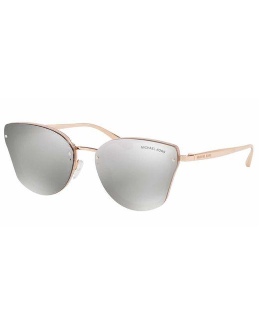 Michael Kors Gray Mk2068 Sanibel 32466g Women's Sunglasses Pink