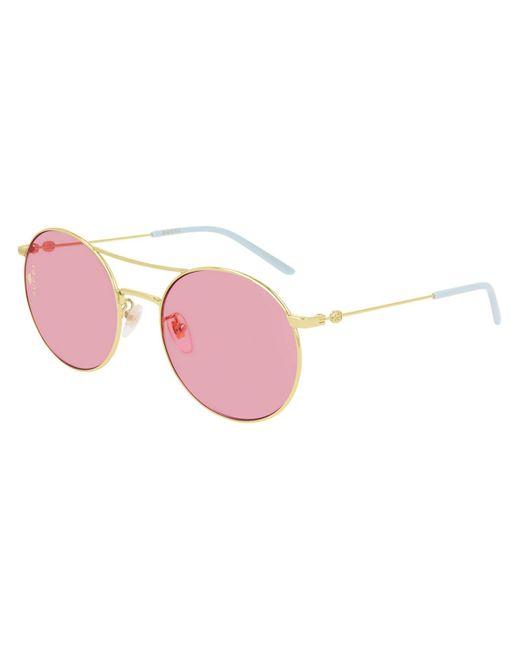 Gucci Metallic GG0680S 004 Women's Sunglasses