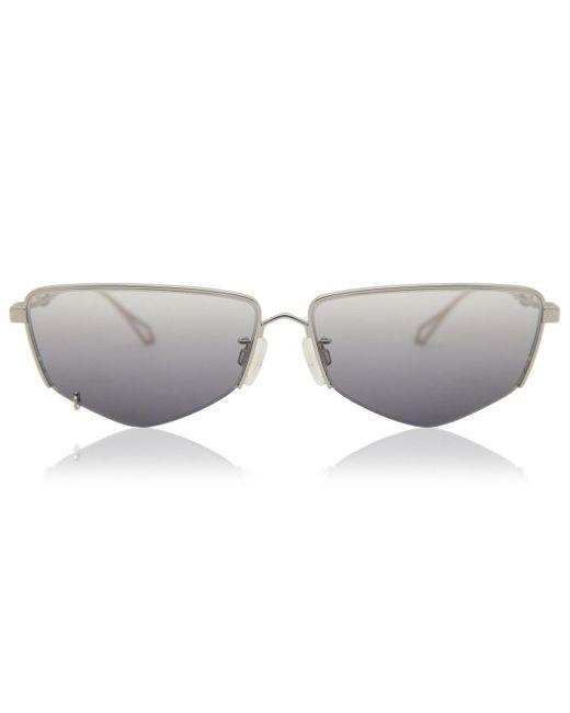 McQ Alexander McQueen Metallic Mq0271sa Asian Fit 001 Women's Sunglasses