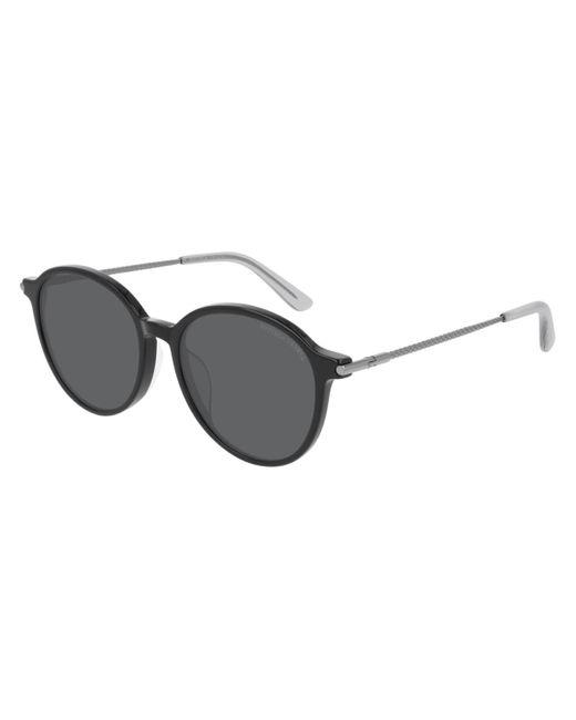 Bottega Veneta Bv0260sk Asian Fit 001 Women's Sunglasses Black