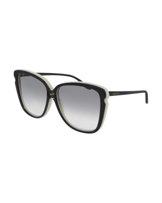 Gucci GG0709S 004 Women's Sunglasses Black