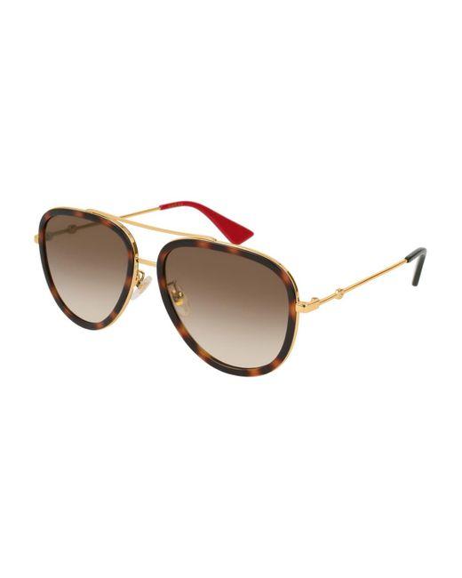 Gucci Multicolor GG0062S 012 Women's Sunglasses