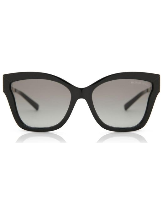 Michael Kors Mk2072 Barbados 333211 Women's Sunglasses Black Size 56