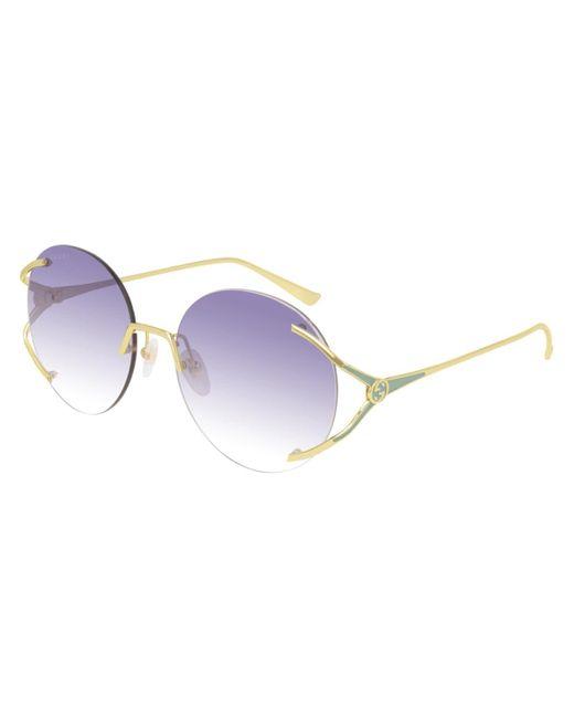 Gucci Metallic GG0645S 003 Women's Sunglasses