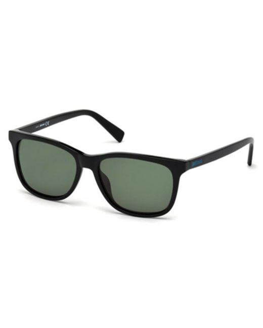 Just Cavalli Black Jc 671s 01n Sunglasses for men