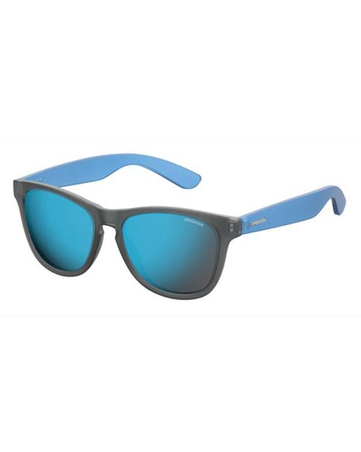 Polaroid P8443 Unisex Trendy sunglasses Rectangular w// Polarized lens