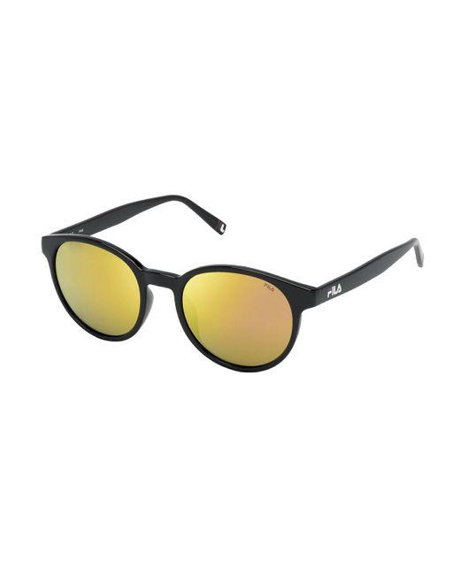 Fila Sf9398 Polarized Z42p Women's Sunglasses Black