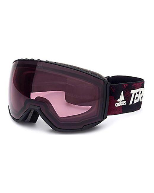 Adidas Purple Sp0039 02s Sunglasses Black for men