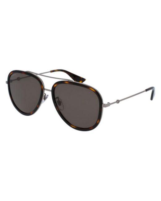 Gucci Green GG0062S 002 Women's Sunglasses