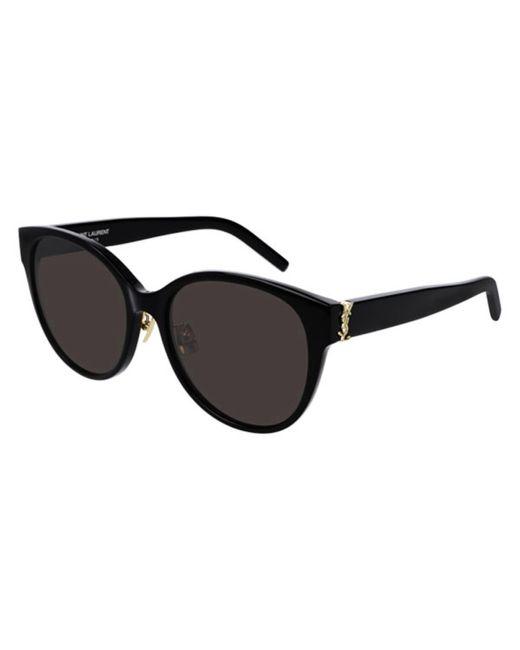 Saint Laurent Black Sl M39/k Asian Fit 001 Women's Sunglasses