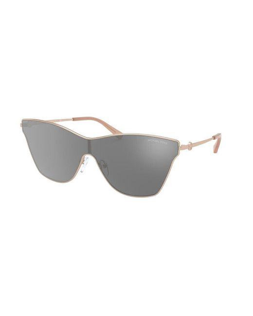 Michael Kors Multicolor Mk1063 Larissa 11086g Women's Sunglasses Gold