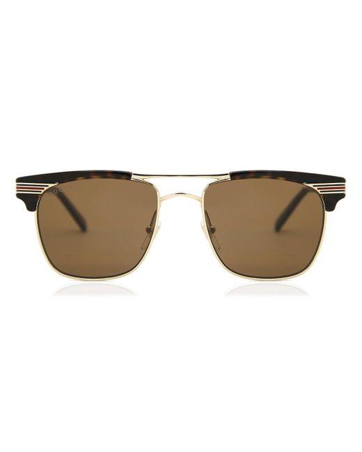 Gucci Brown GG0287S 003 Sunglasses for men