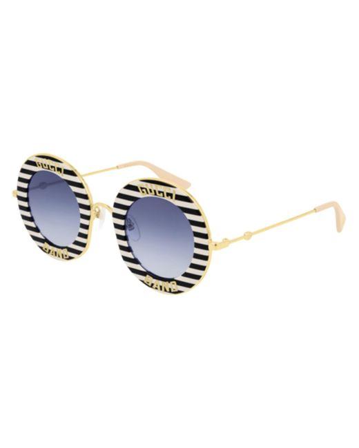 Gucci GG0113S 008 Women's Sunglasses Black