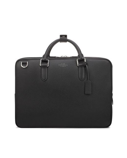 Smythson - Black Burlington Slim Briefcase for Men - Lyst